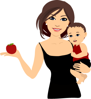 Mother Black Dresses Png image #41508