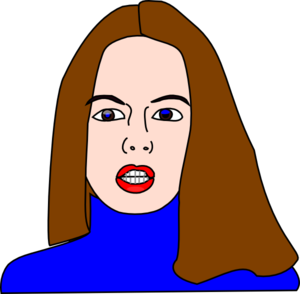 Mother Face Clipart image #41507