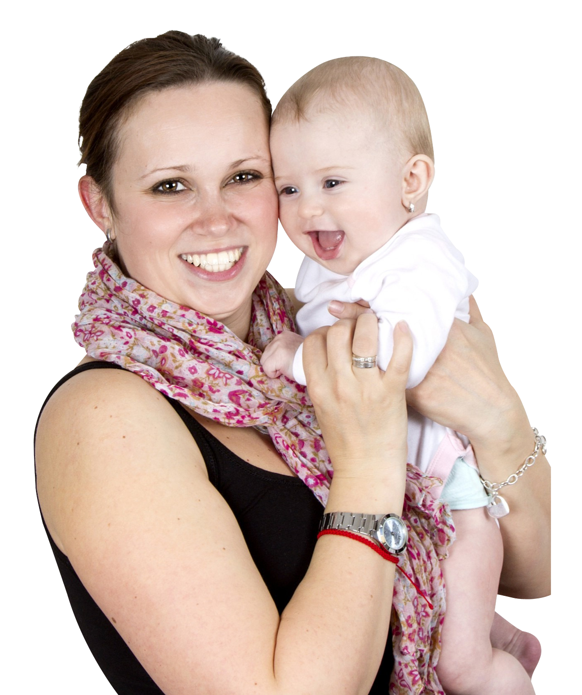 Mother Holding Sweet Baby Png image #41498