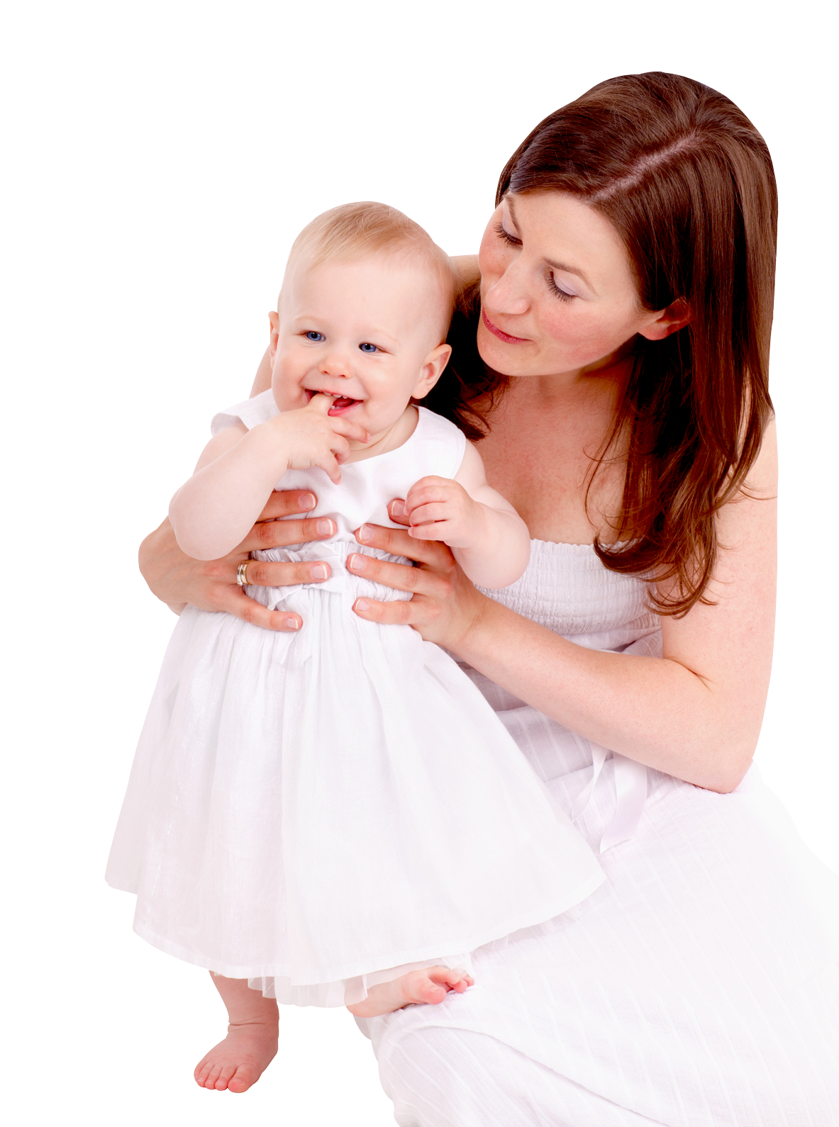 Mother With Sweet Baby Girl Png image #41511