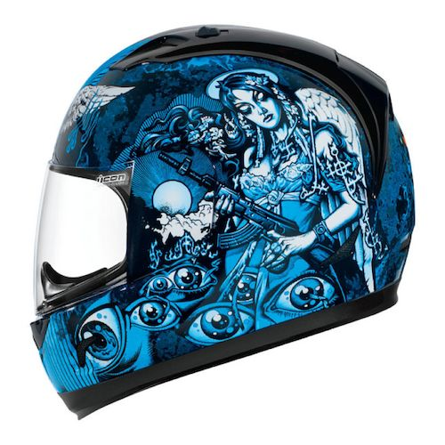 Icon Helmet Transparent