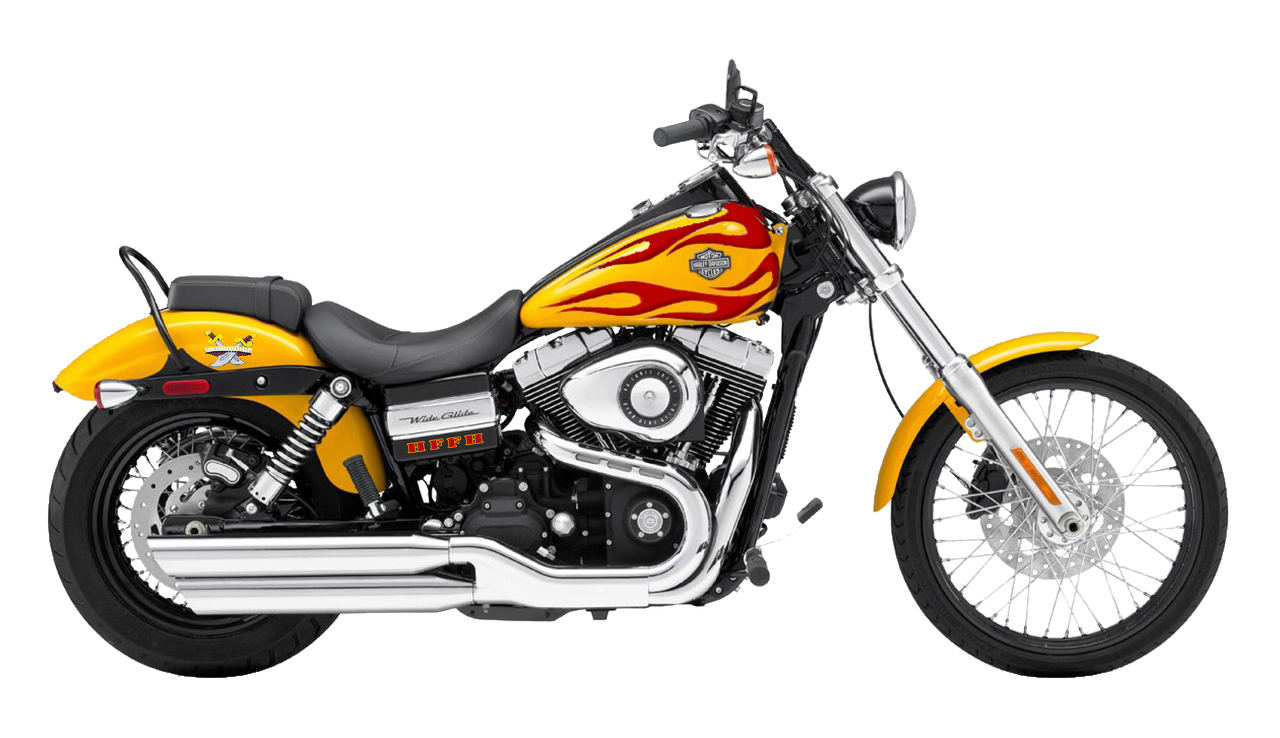 Orange Sports Motorcycle Png image #20341