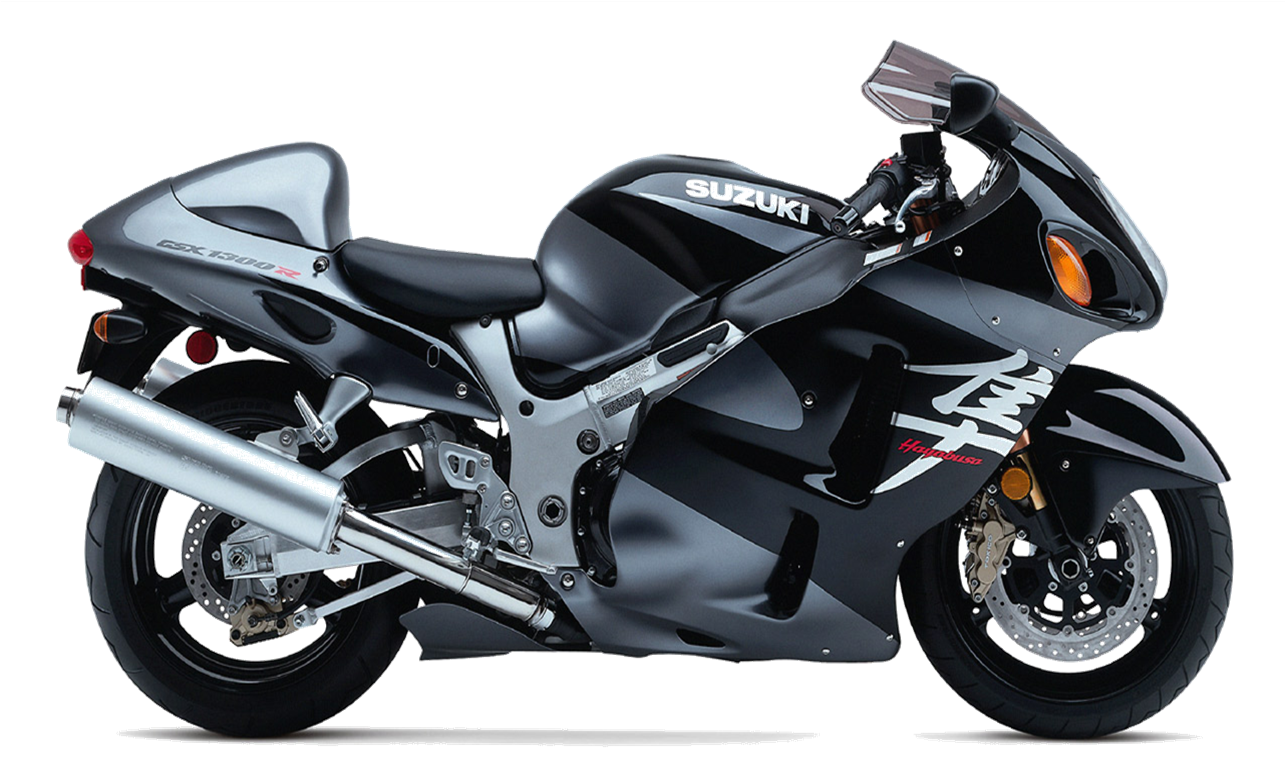 Motorcycle Black PNG Transparent Image image #20329