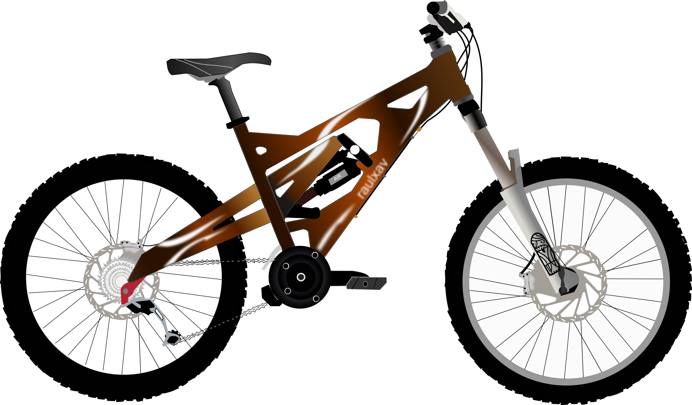 Mountain Bicycle Png Clipart image #45185