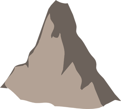 Mountain Transparent Clipart image #36273