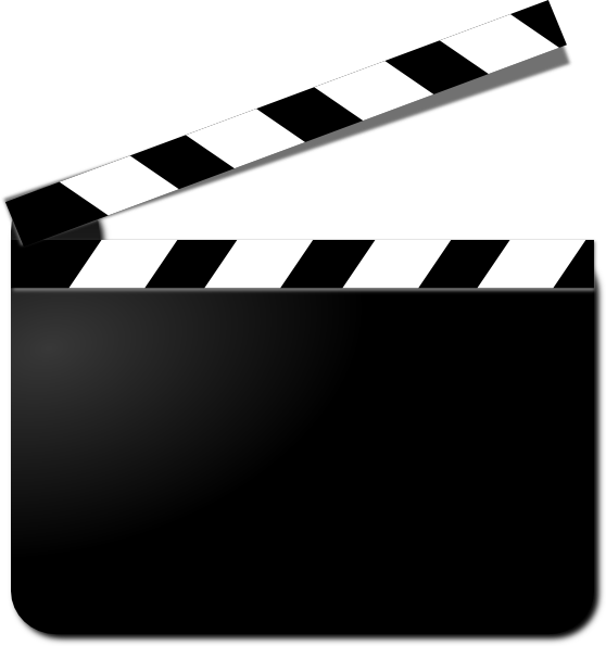 movie clapperboard png