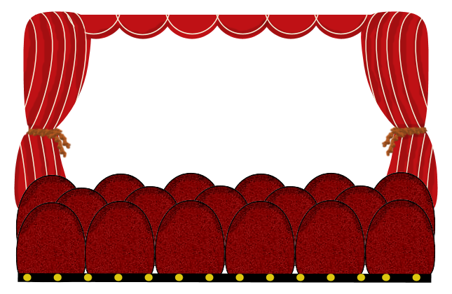 movie theatre, frame, stage, scene png