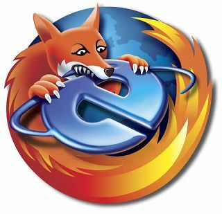 Mozilla Firefox Vector Drawing image #4045