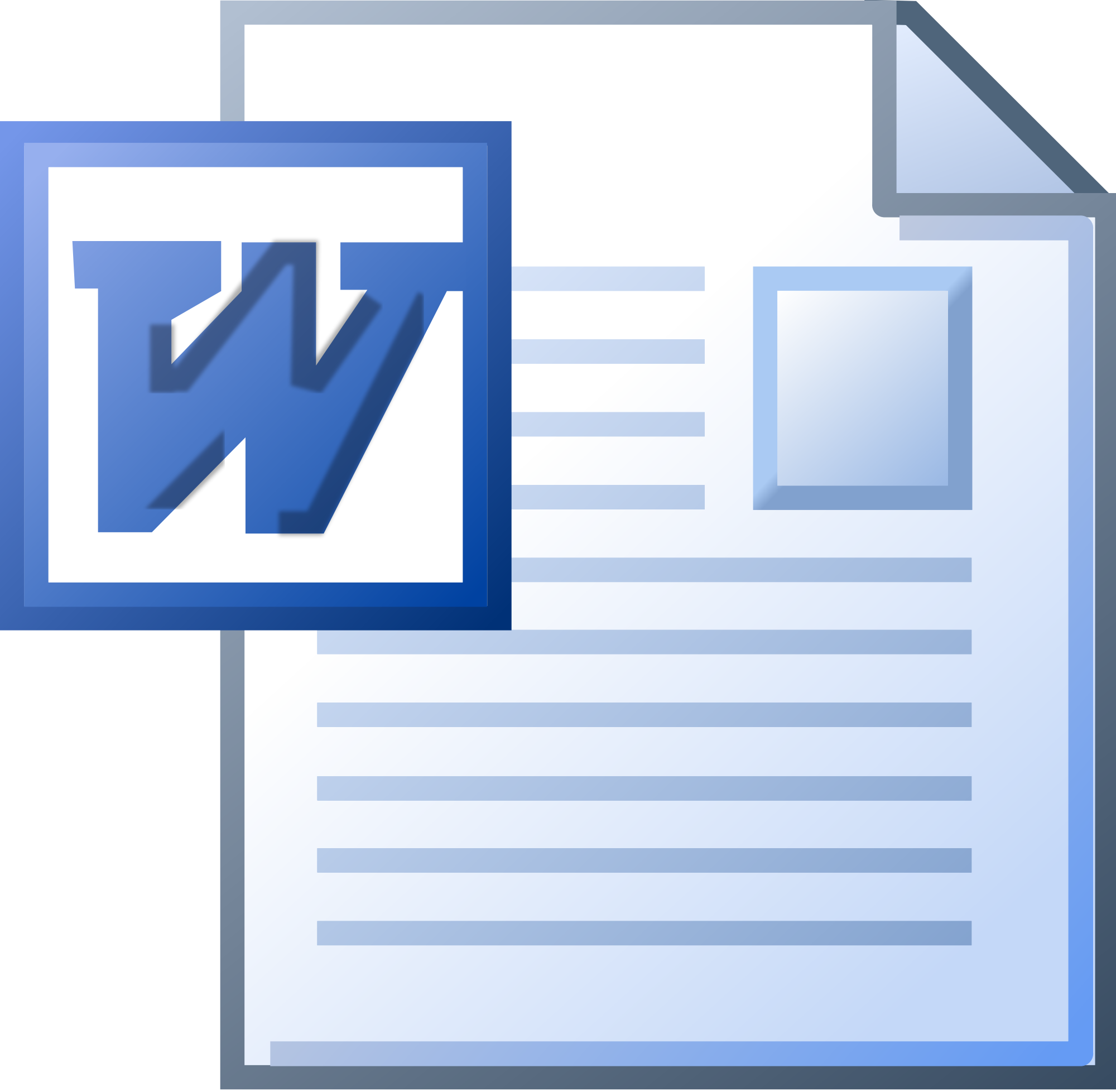 Ms Word Doc Icon image #4004