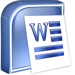 MS Word Icon image #4018