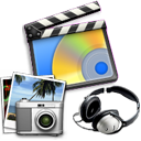 Multimedia Package Icon PNG 128x128, Multimedia HD PNG Download