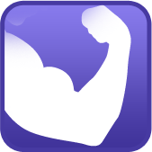 Size Muscle Icon image #5236