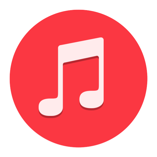 Music, Red, Symbol, Free Icon image #40407