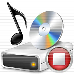 Image Free Music Stop Icon