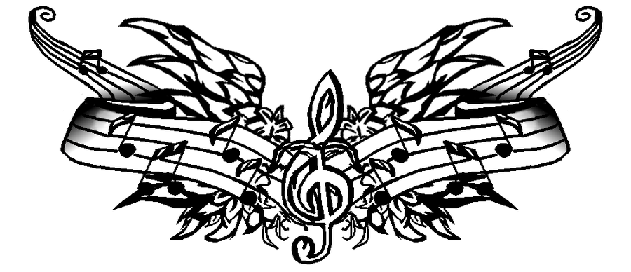 music tattoos png