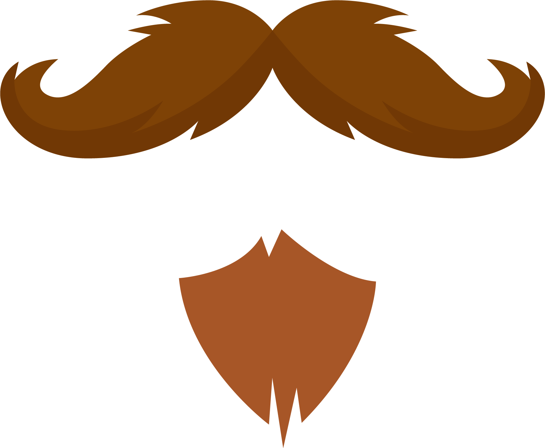 Mustache Beard Clipart Png image #44581
