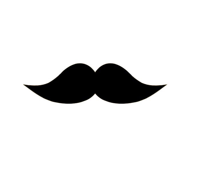 mustache short plump whiskers png