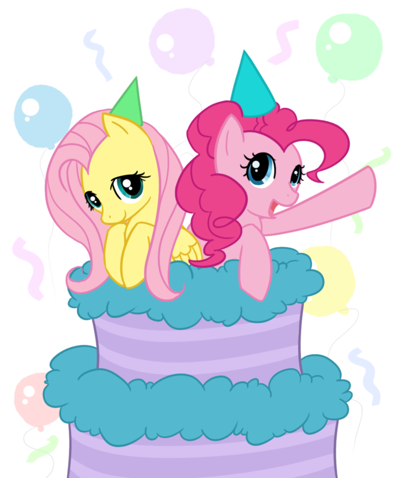 My Little Pony Birthday Celebration Cake PNG Picture image #47139