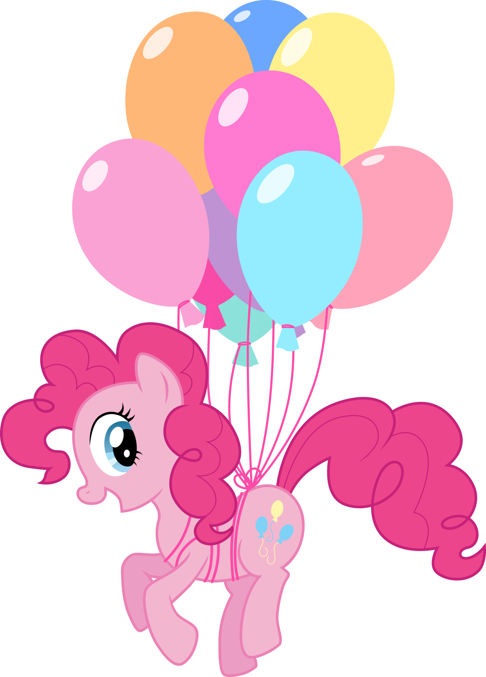 My Little Pony With Ballons Picture Download image #47128