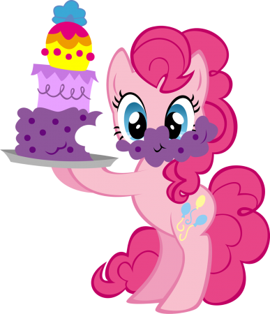 My Little Pony With Cake Designs Png image #47125
