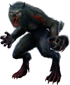 mythical creature werewolf clip art image High-quality Png