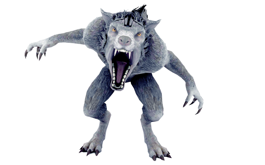 mythical creature wolf, werewolf, clip art