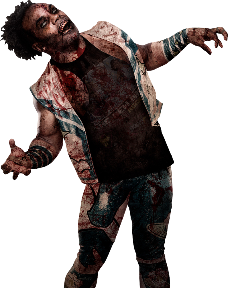 Mythical Creature Xavier Woods, Clip Art, Wwe Zombie Background Image image #48833