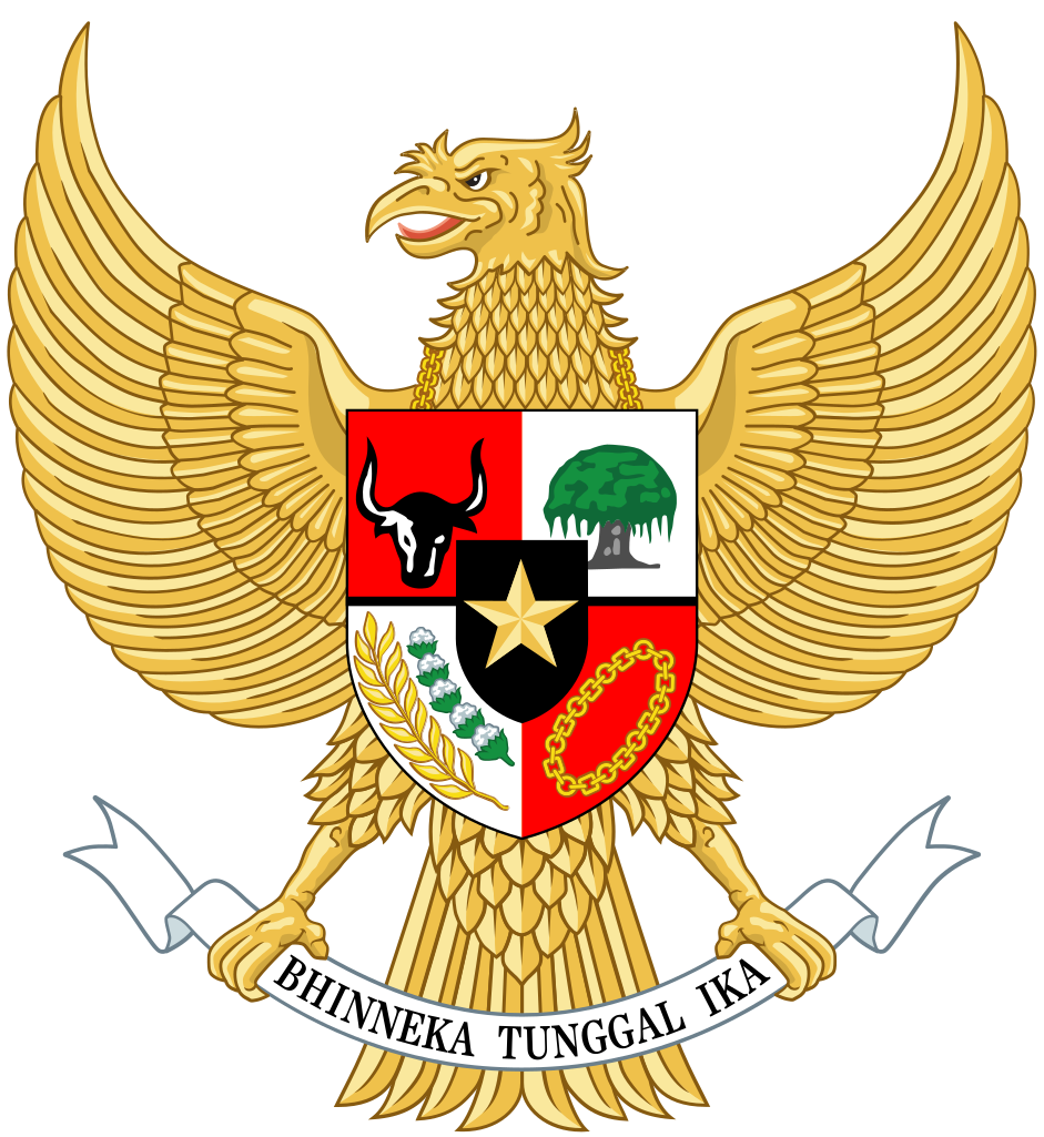 National Emblem Of Indonesia Garuda Pancasila Png Hd