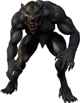 Never Cry Werewolf action figure werewolf, wolf Png Images