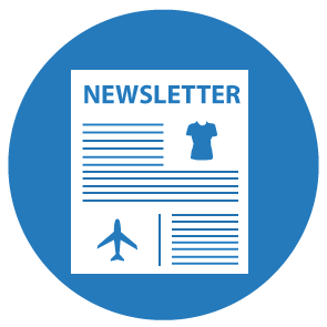 Newsletter Library Icon