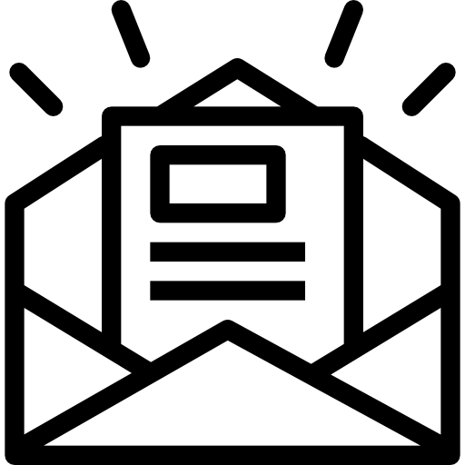 Newsletter Download Icons Png
