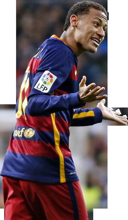 neymar football brazil png