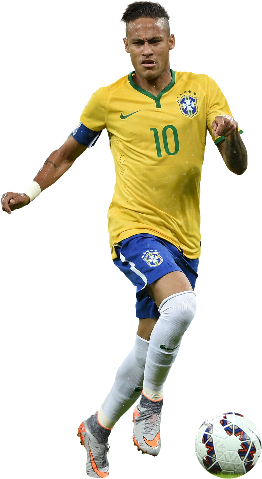 Neymar Football Render Athlete Png image #44982