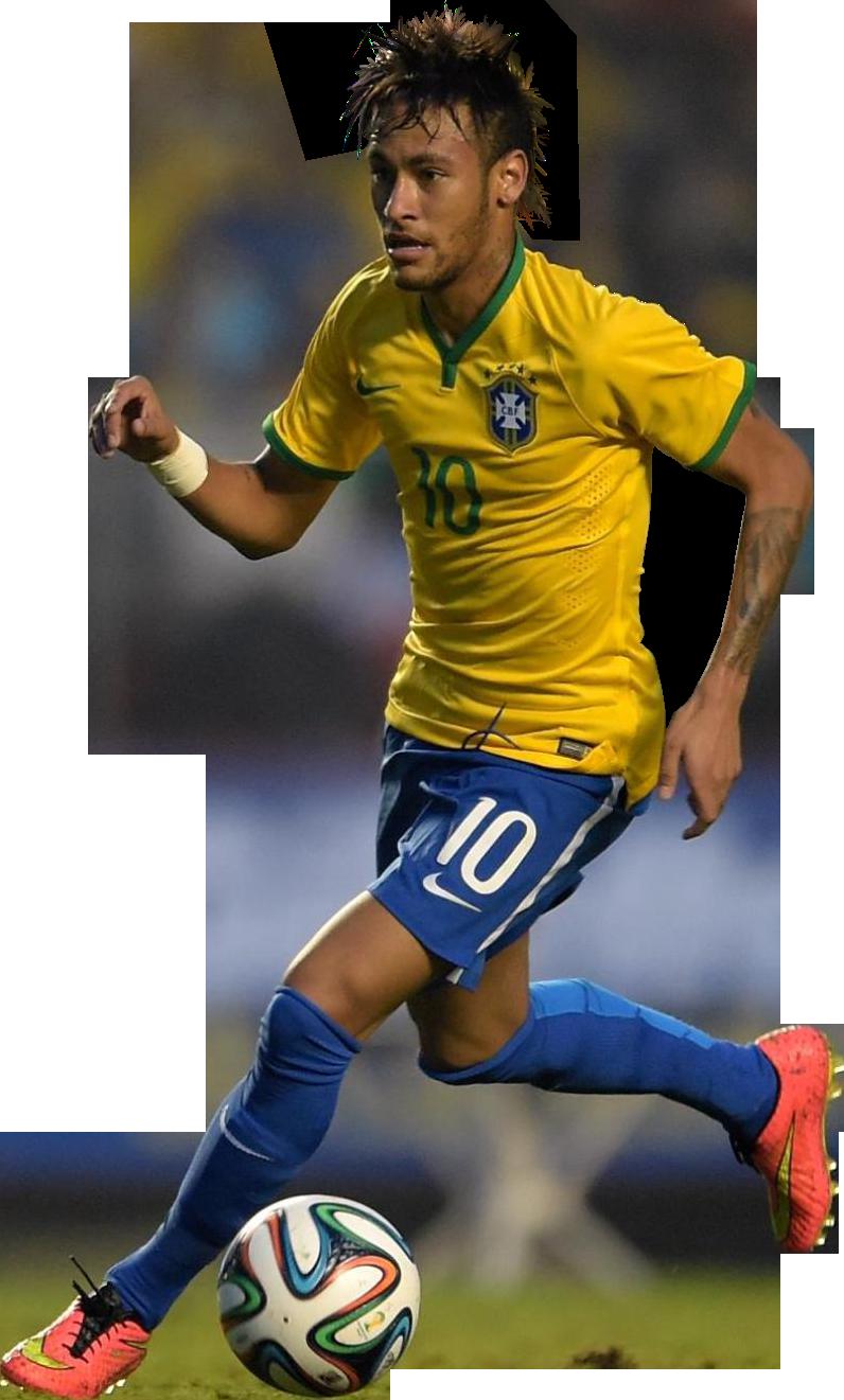 neymar football render clipart