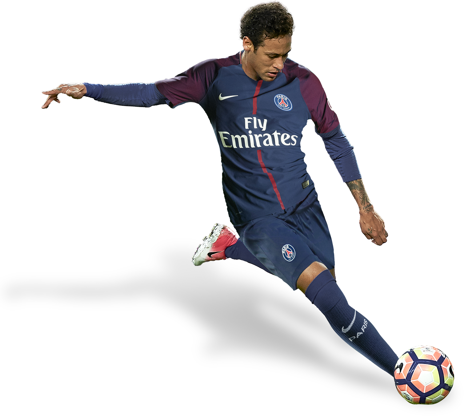 neymar football render png pic