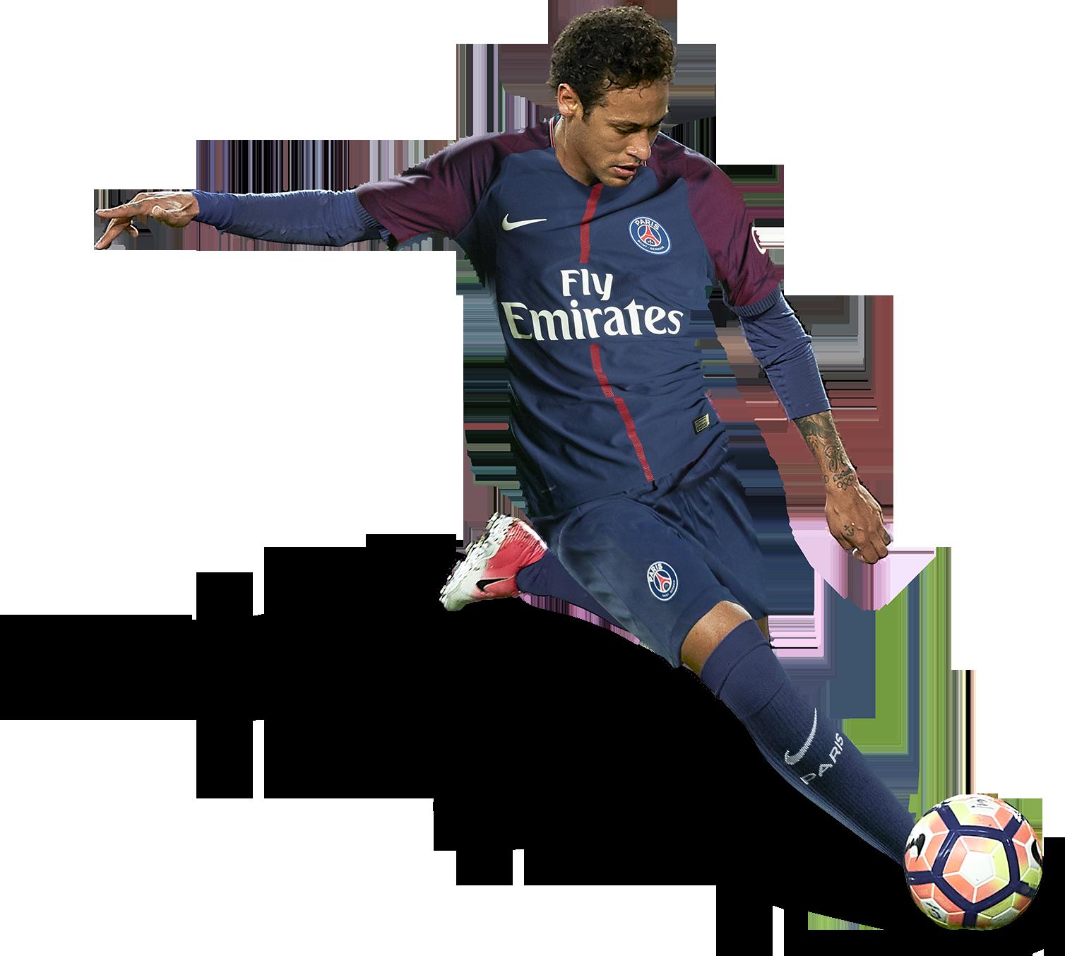 Neymar Football Render Png Pic image #44968