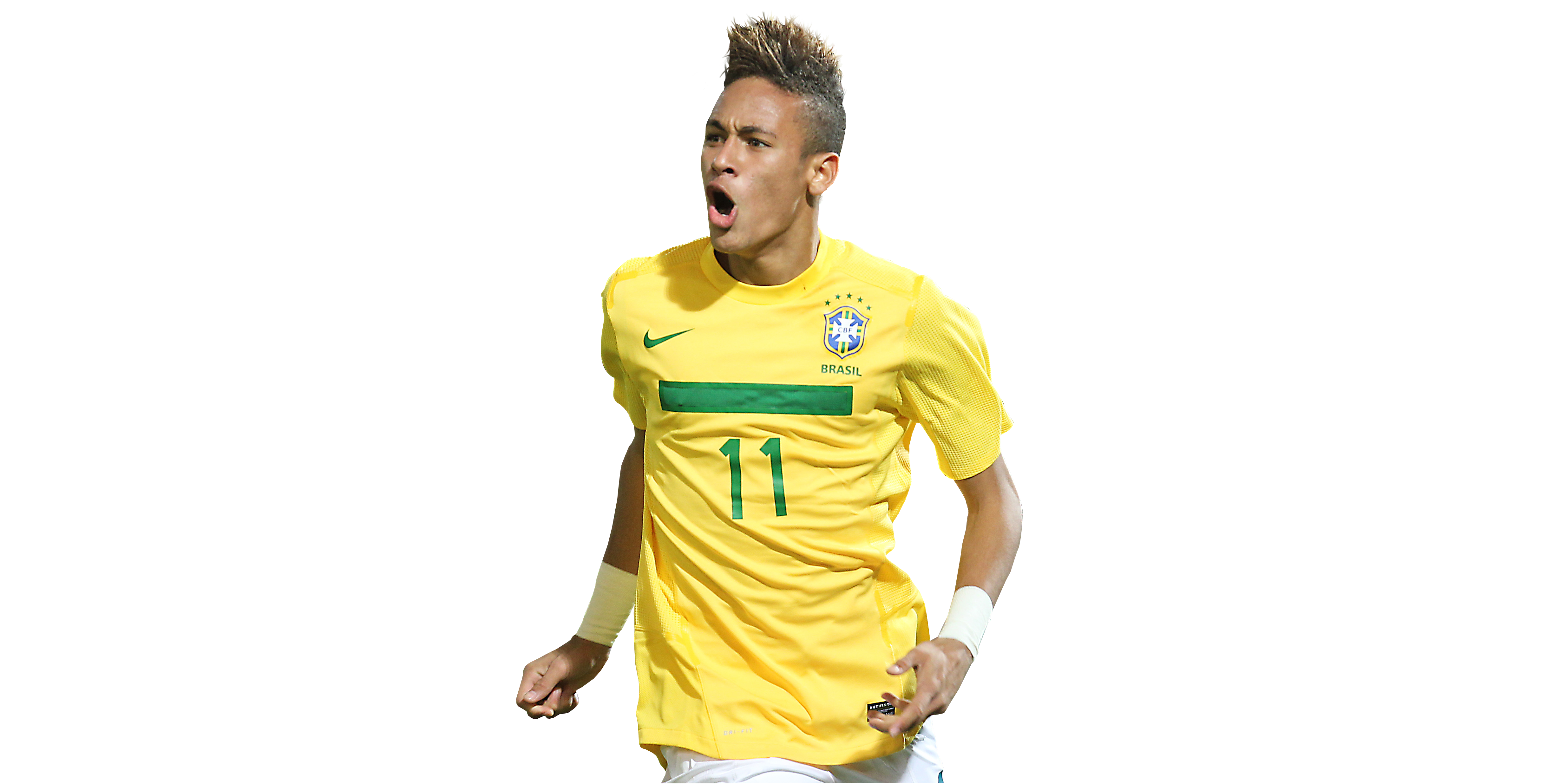 Neymar Junior Png 4896x2472, Neymar HD PNG Download