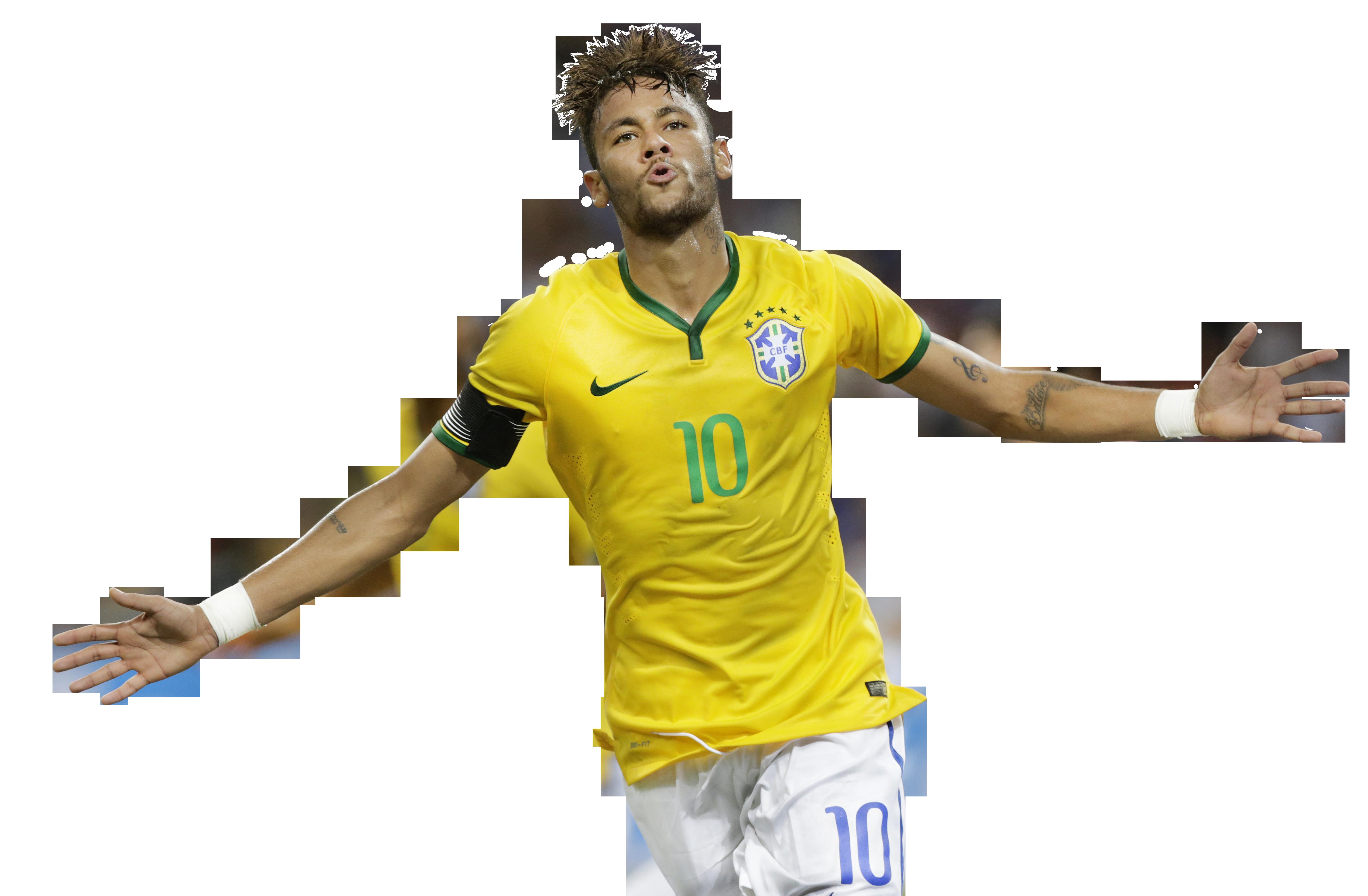 Neymar Render Athlete Png image #44983