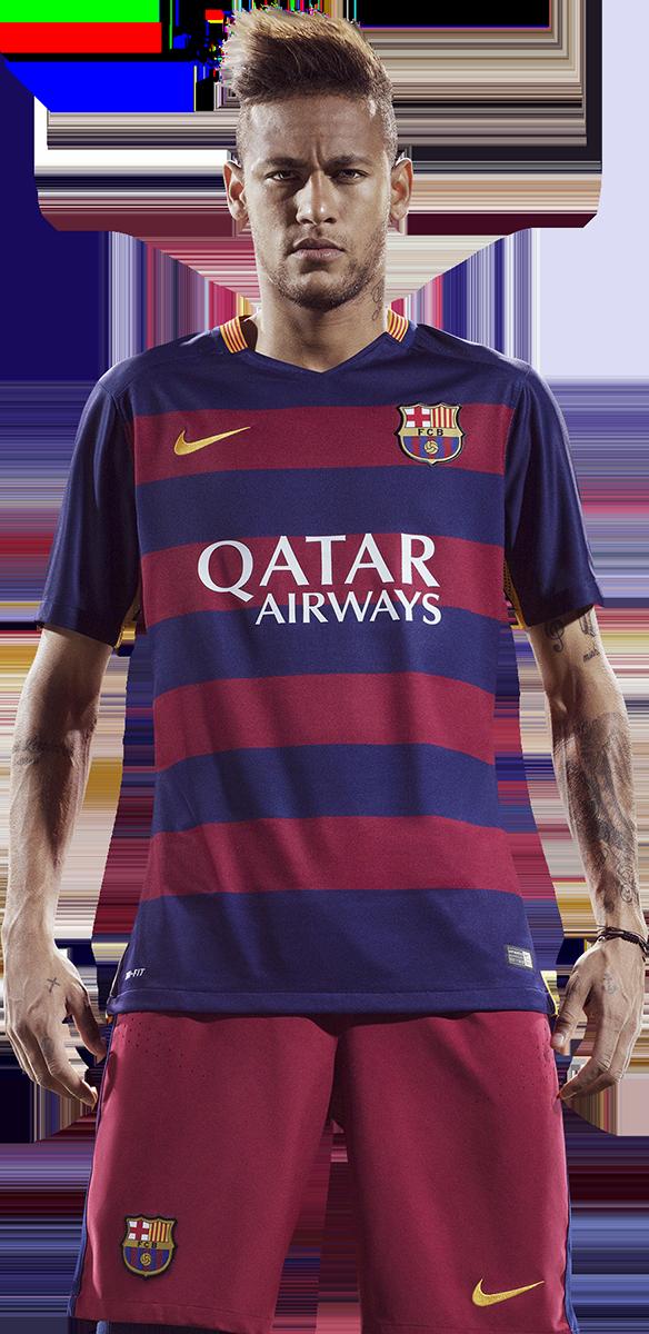 neymar render barcelona png