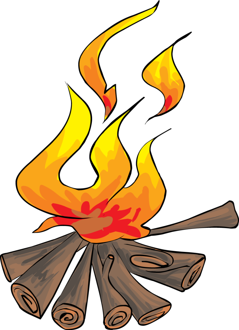 Nice Bonfire PNG Picture image #47562