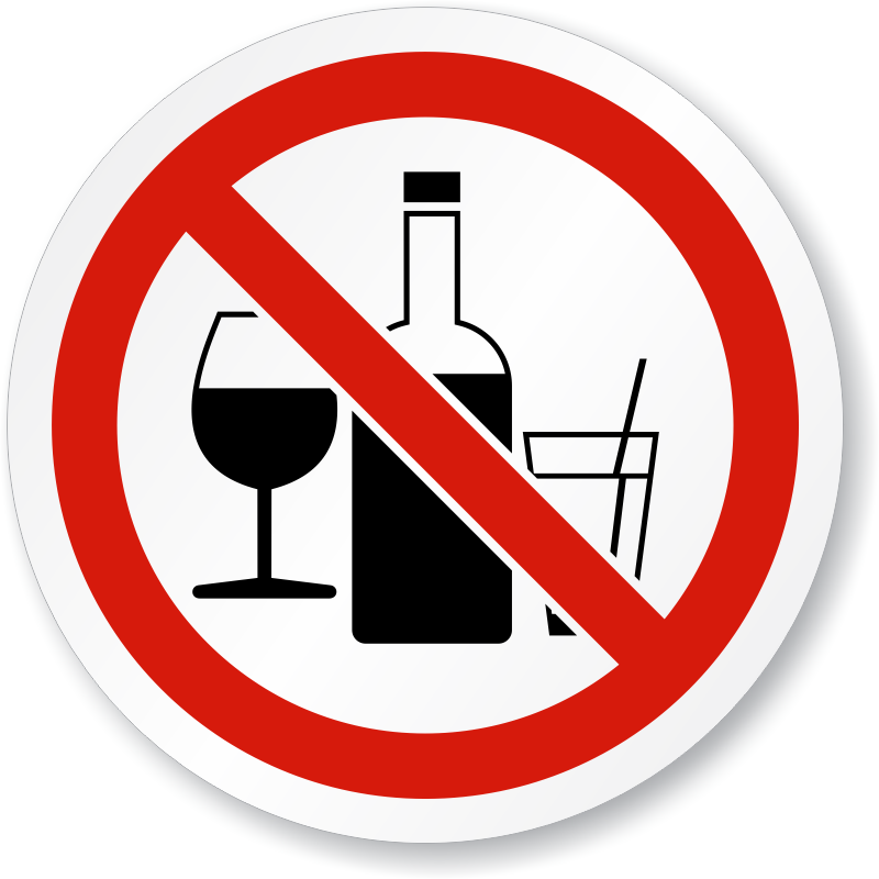 Icon Vector No Alcohol #27324 - Free Icons and PNG Backgrounds