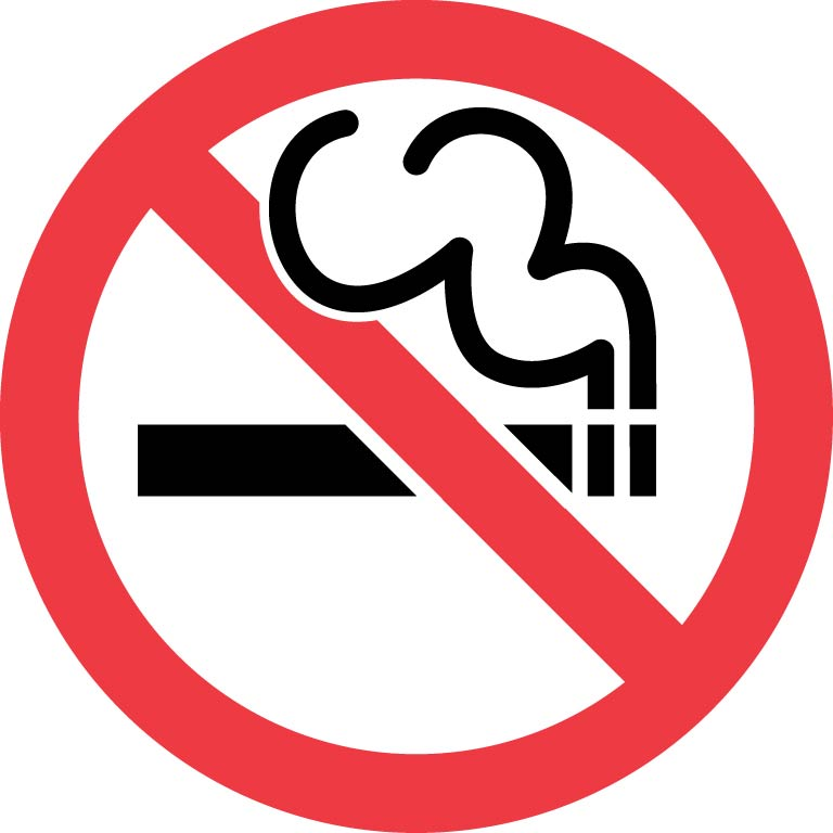 No Smoking Save Icon Format image #26830