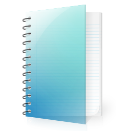 Icon Vector Notepad
