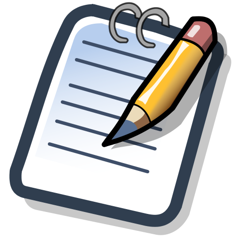 Notepad Simple Png