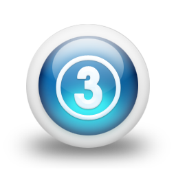 Number 3 Icon Svg image #24732