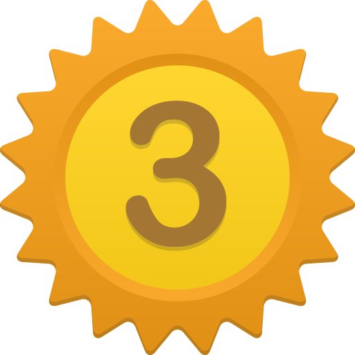 Number 3 Icon Svg image #24728