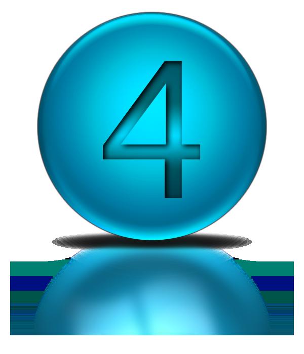 Number 4 Icon  Transparent Number 4 Png Images  U0026 Vector