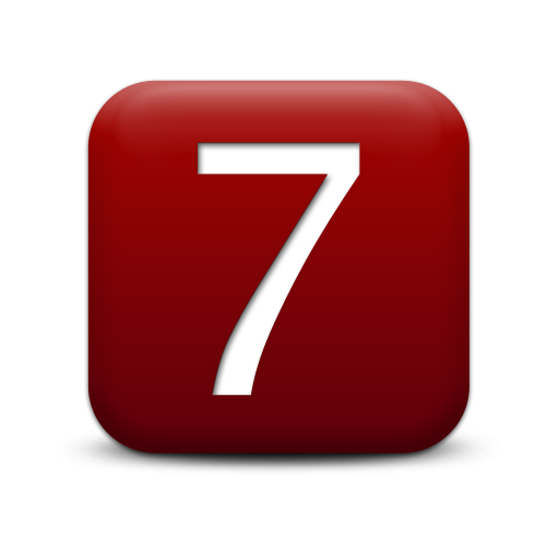 For Windows Number 7 Icons