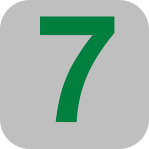 Save Number 7 Png image #24851