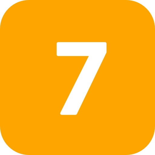 Number 7 Icon Hd image #24858